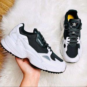 Adidas Falcon Trail Retro Platform Sneakers Women